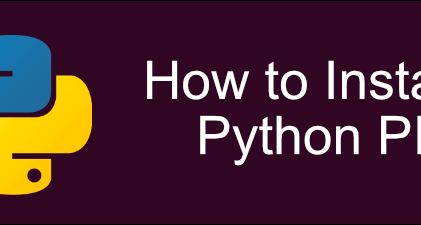 How To Install Python PIP For Python Packages