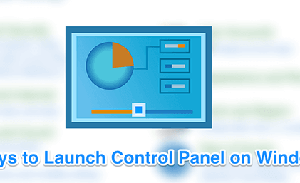 11 Ways To Open Control Panel In Windows 10